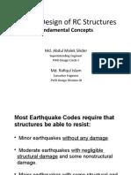 Seismic Design of RC Structures 2