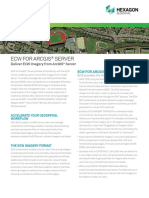 ECW for ArcGIS Server Product Sheet 2015 SCREEN