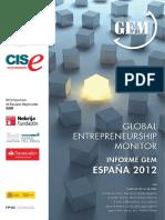 Informe GEM España 2012