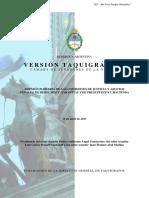 21584 - Version Taquigrafica - Defensoria Secretaria Letrada a Cargo de La Comisión Sobre Técnicas de Género Del Ministerio Público de La Defensa