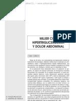 Pancreatitis aguda hipertrigliceride¦ümica