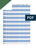 40k Roster Sheet