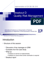 06 Breakout D-Quality Risk Management-Key Messages