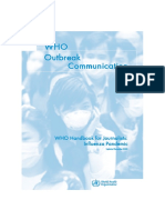 WHO_Handbook for Journalists Pandemic Flu_2005 Edi