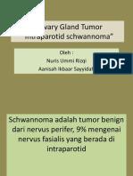 schwanoma intraparotid