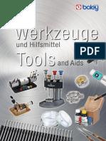Werkzeuge und Hifsmittel Tools and Aids