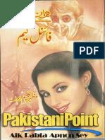 Final Game Part 1 Imran Series by Mazhar Kaleem - Zemtime.com