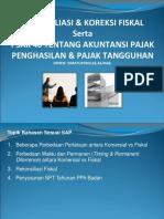 136617574 Materi Rekonsiliasi Fiskal Pajak Tangguhan PSAK 46 Final 2012 Rev1