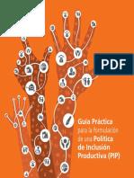 Guía Práctica para la formulación de una Política de Inclusión Productiva (PIP)
