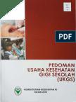 2014_Pedoman Usaha Kesehatan Gigi Sekolah