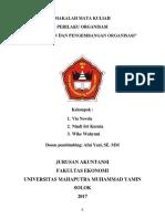 Perubahan Dan Pengembangan Organisasi( Wike )