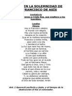 Laudes franciscano