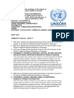 UNSOM holds meetings on the impact of Somali traditional justice system on women