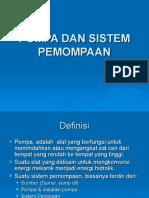Spt 8 - Pompa Dan Sistem Pemompaan (26 April 2017)