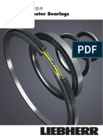 Liebherr Large Diameter Bearings Product Catalogue Metric