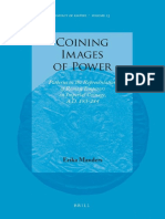 (Impact of Empire 15) Erika Manders-Coining Images of Power_ Patterns in the Representation of Roman Emperors on Imperial Coinage, A.D. 193-284-Brill Academic Pub (2012)