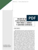 Sarcoidosis en probable relacio¦ün con la administracio¦ün de interfero¦ün pegilado