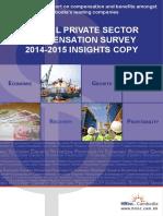 Cambodia Annual Private Sector Compensation Survey 2014-15