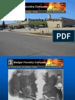 Badger Foundry Company MasterPresentation