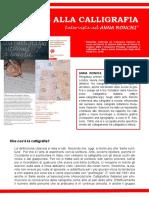 Tornare Alla Calligrafia - Intervista Anna Ronchi