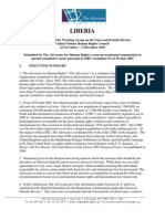 Liberia Upr Submission Advocates for Human Rights Final