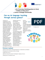 language games newsletter 1