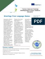 language games newsletter 2