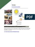 1 Solar Energi System