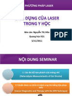 Ung Dung Moi Nhat Cua Laser Trong Y Hoc