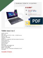Tablet Asus 2 en 1