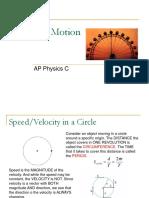12AP Physics C - Circular Motion