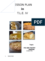 LP TLE IV - Pie and Pastry Making (Custard Pie)