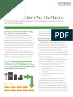 Governing Institute Brief Plastics-To-fuel