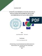 Presentasi Kasus Rehabilitasi Medik GDD ec Hidrosefalus
