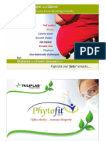 Phytofit - A Herbal Product for Anti Obesity