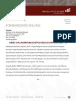 For Immediate Release Glendale Corporate Center