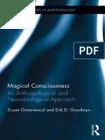 [Susan Greenwood, Erik D. Goodwyn] Magical Consciousness