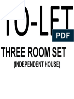 Three Room Set