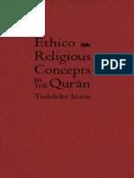 Ethico Religious Concepts in the Quran by Toshihiko Izutsu