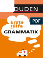 Duden Erste Hilfe Grammatik