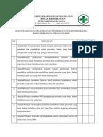 Bab 8.1.8 Ep 7 Bukti Pelaksanaan Pelatihan Dan Pendidikan Untuk Prosedur Baru