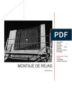 PROTOCOLO Montaje de Rejas