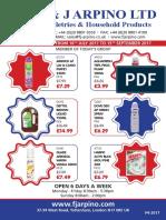 Best Household wholesalers in London & Ghana | Fj Arpino