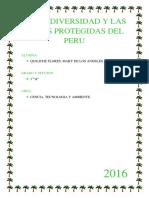 La Biodiversidad y Las Areas Protegidas Del Peru