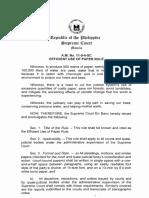 Efficient Use of Paper Rule - A.M. No. 11-9-4-SC.pdf