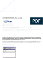 Using the Batch Plot Utility - AskInga Community Wiki - AskInga - Bentley Communities