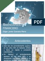 ARRENDAMIENTO FINANCIERO EXPOSICIÓN