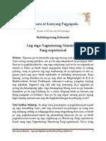 Chapter 11- Instructing Spiritual Masters [Sri Guru and His Grace in Filipino]