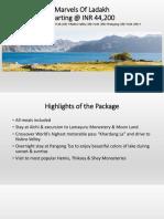 Explore Marvels of Ladakh with SOTC Holidays