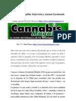Entrevista a Antonio Escohotado, autor de Historia de las Drogas